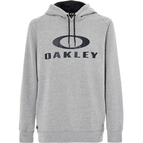 Oakley Lockup PO Hoodie Men Athletic Heather Grey
